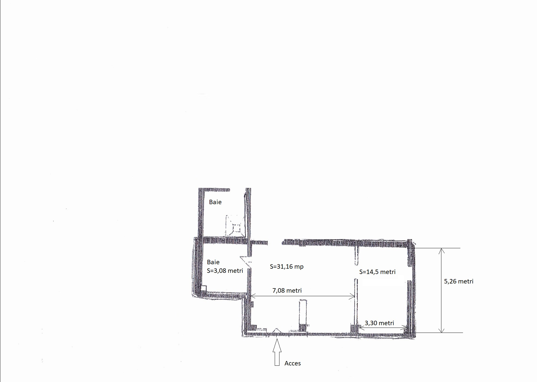 For rent commercial space in Marasti neighborhood, in Cluj Napoca, located in the central area - AR5503