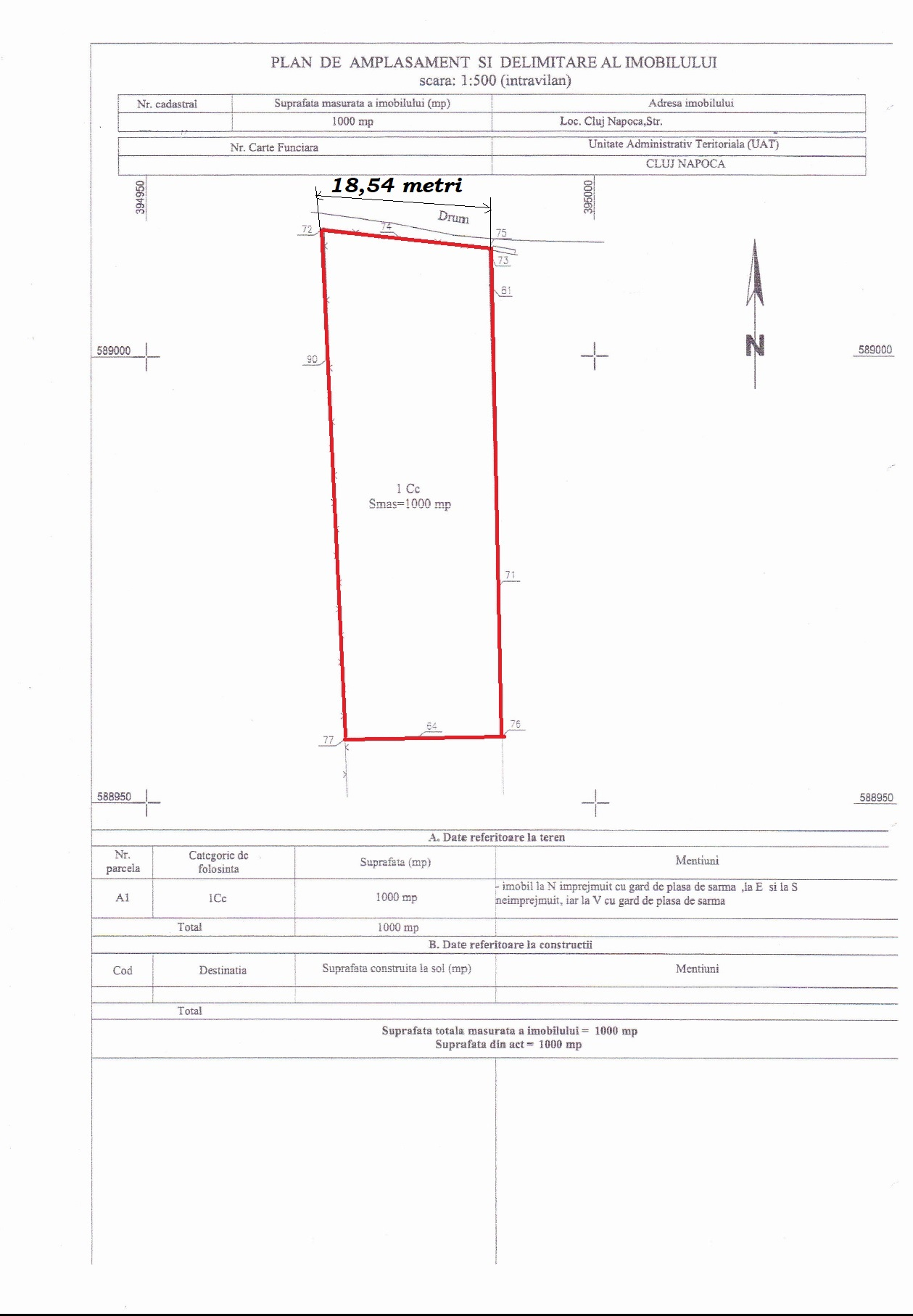Land for construction for sale in Bulgaria, Cluj Napoca - AR6417